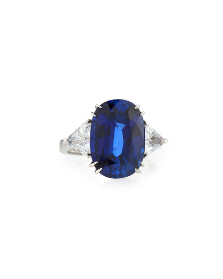 Fantasia by DeSerio Oval Cubic Zirconia Ring, 10 TCW