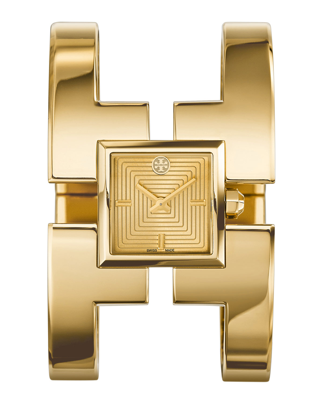 Sawyer Golden Bangle Watch