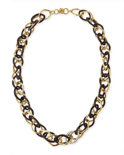 Kamba Dark Horn Necklace