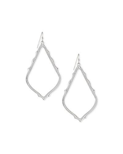Color Lane Earrings Green Glass Beaded Filigree Work Silver Metal Dangle Circular For Women//Girls