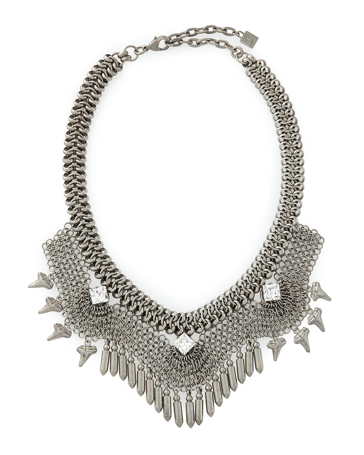 Langley Mesh Crystal Necklace