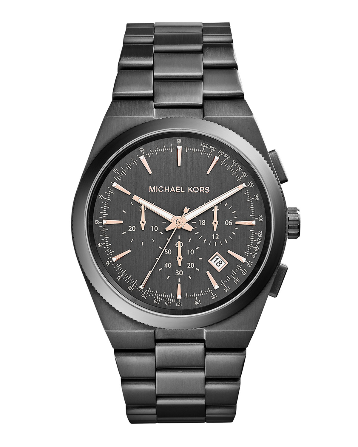 Channing Gunmetal Chronograph Watch