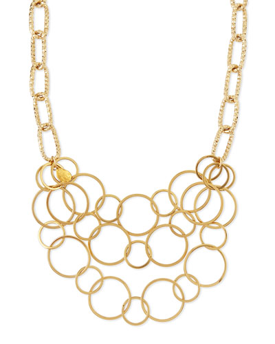 Multi-Chain Gold-Plated Necklace