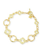 Armenta 18k Yellow Gold Link Bracelet