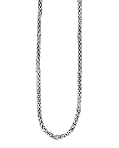Caviar-Rope Necklace