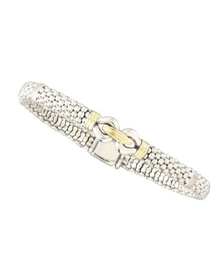 Lagos Derby Silver & Gold Bracelet, 6mm