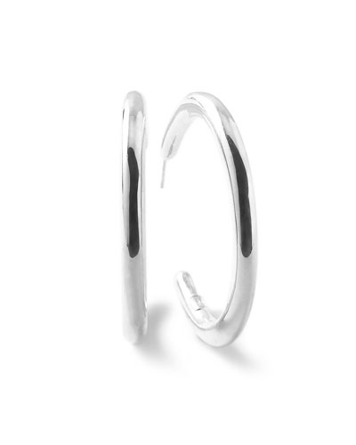 622e647caf8e Silver Hoop Earrings