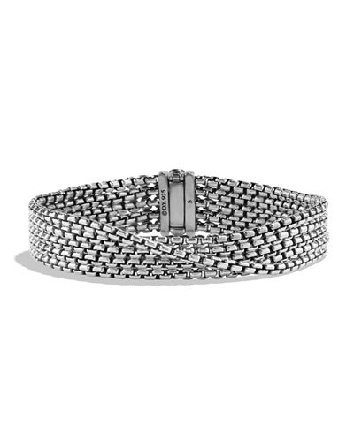 Chain Five-Row Bracelet, 2.7 mm