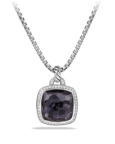 Albion Pendant with Lavender Amethyst and Diamonds