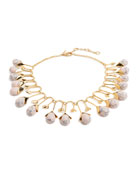Blooming Bud Statement Necklace