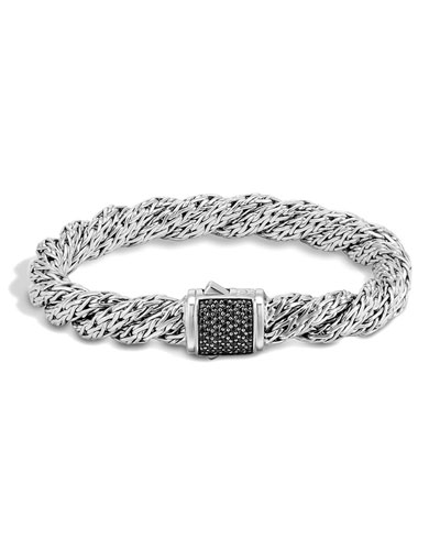 Classic Chain Lava Medium Twisted Chain Bracelet, Size M