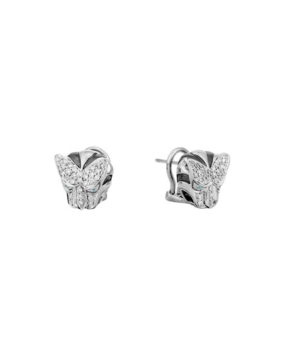 Classic Chain Diamond Macan Stud Earrings