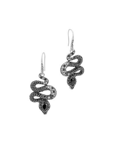 Classic Chain Cobra Lava Earrings