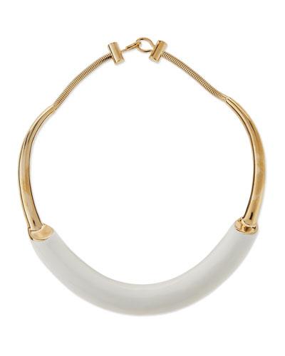 Lauren Enamel Collar Necklace