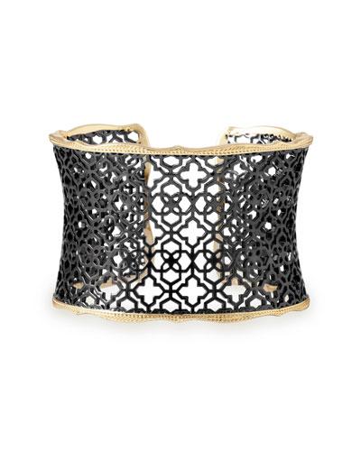 Candice Mixed Metal Cuff Bracelet
