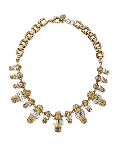 Phantom Crystal Statement Necklace