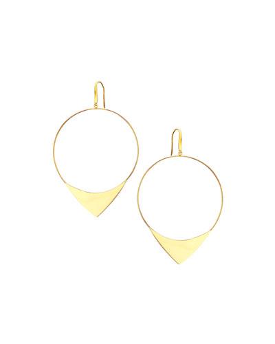 14k Large Elite Hoop Earrings