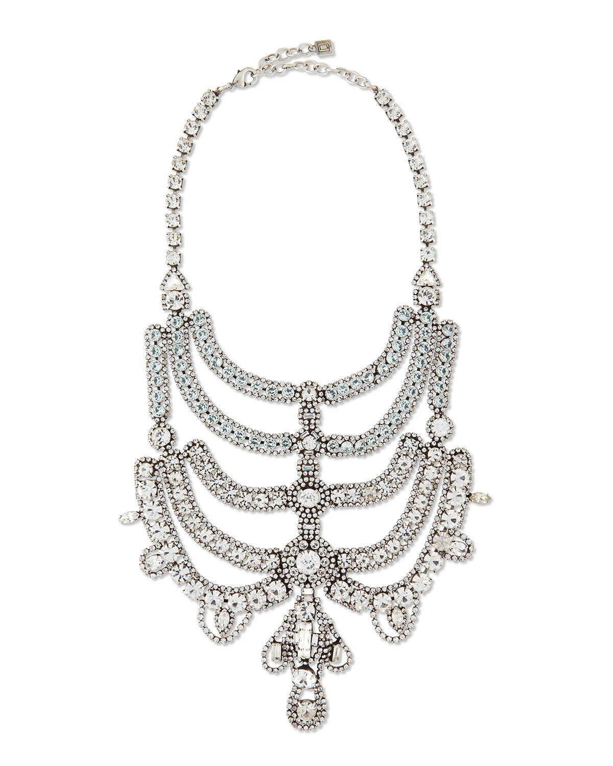MARGAUX CRYSTAL NECKLACE