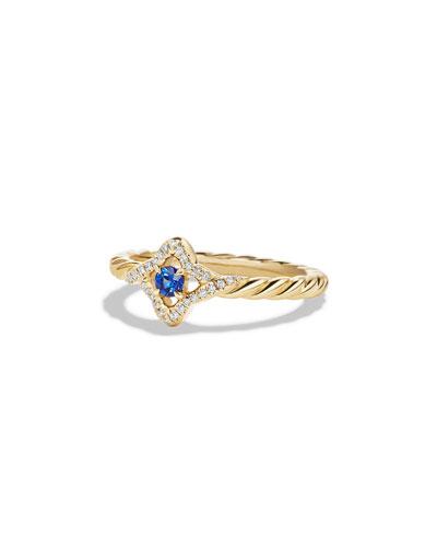 Ron Hami Birds of Paradise Diamond & Sapphire Ring, Size 7
