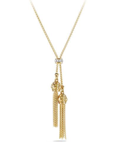 Petite Renaissance 18K Gold Necklace