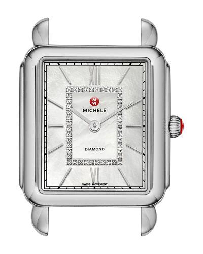 18mm Deco Diamond Watch Head