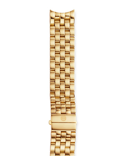 18mm Sport Sail 18-Karat Gold-Plated Bracelet Strap