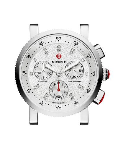 18mm Sport Sail Diamond-Dial Watch Head