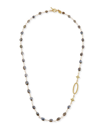 Sueno Silverite Beaded Cravelli Necklace