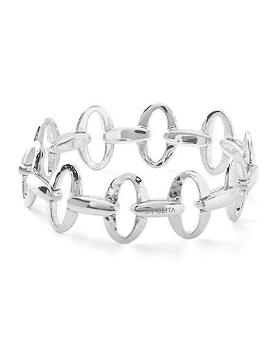 925 Glamazon Small Oval Link Bracelet