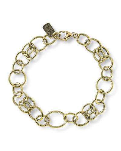 Glamazon 18k Classic Link Bracelet