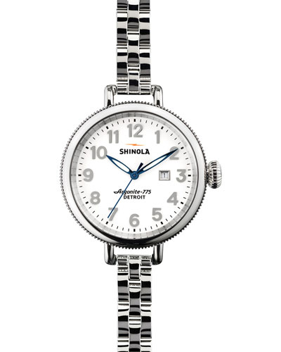 34mm Birdy Stainless Steel Watch