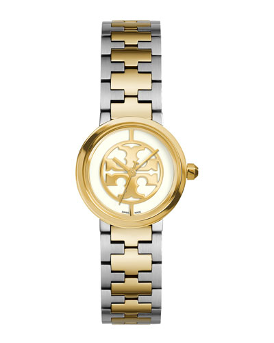 Reva Two-Tone Bracelet Watch, 28mm