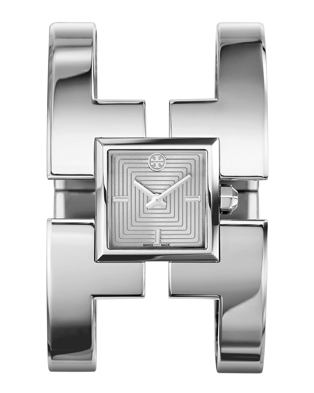 Sawyer Stainless Steel Bangle Watch