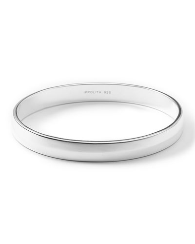 925 Glamazon Seamed Hinge Bangle