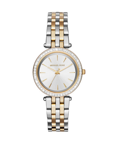 33mm Mini Darci Two-Tone Bracelet Watch