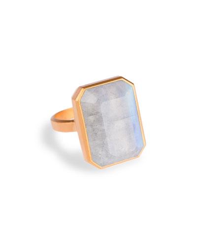 Daydream Rainbow Moonstone Smart Ring
