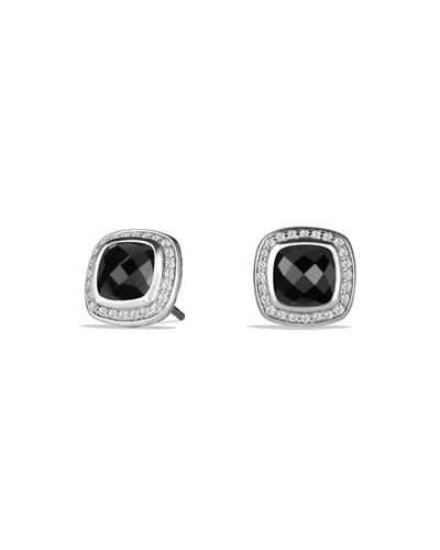11mm Albion Onyx Stud Earrings