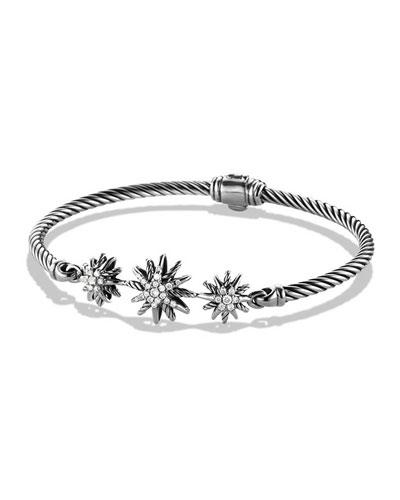 3mm Starburst Diamond Bracelet
