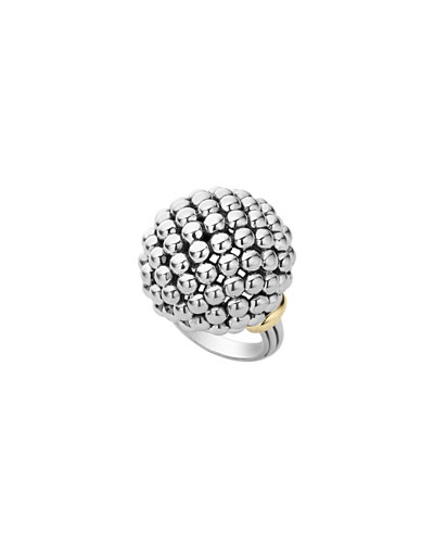 Caviar Forever Large Dome Ring, Size 7
