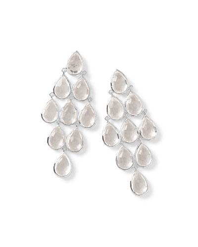 Rock Candy® Cascade Earrings in Clear Quartz