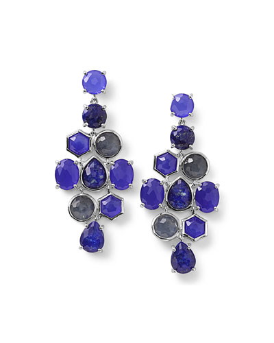 925 Rock Candy Cascade Earrings in Odyssey