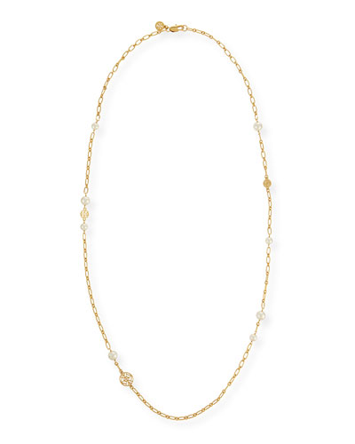 Evie Rosary Chain Necklace, 41