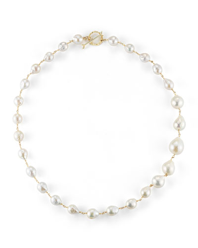 Single-Strand Pearl Necklace, 20