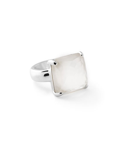 Rock Candy® Large Cocktail Ring in Quartz Doublet