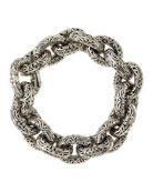 Sterling Silver Chunky Link Bracelet