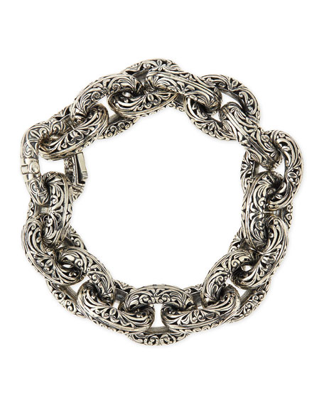 Konstantino Sterling Silver Chunky Link Bracelet