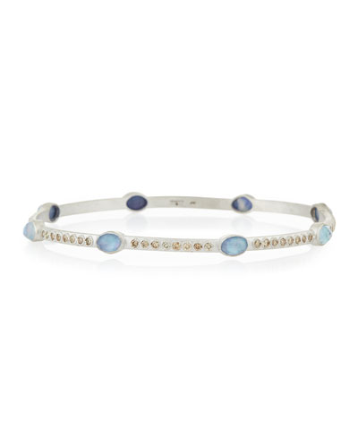 New World Eternity Diamond Bangle Bracelet
