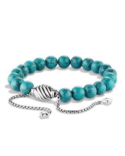 Spiritual Beads Bracelet w/Chinese Turquoise