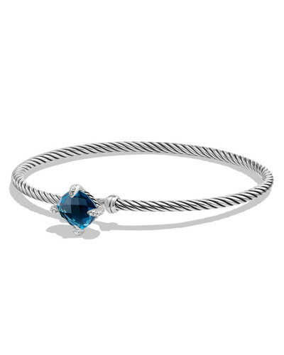 9mm Châtelaine Bracelet with Hampton Blue Topaz