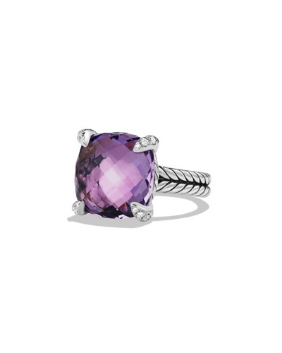 14mm Châtelaine Amethyst Ring